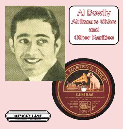 Al Bowlly Afrikaans Sides and other Rarities