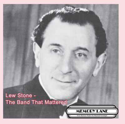 Lew Stone The Band That Mattered