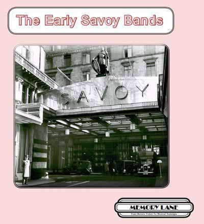 The Early Savoy Bands